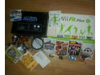 NINTENDO WII CONSOLE WITH EXTRAS VGC