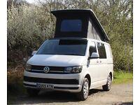 VW Transporter T6 Trendline Camper van, Pop Top Roof, Air Con BlueMotion VW Warranty NEW SHAPE t5