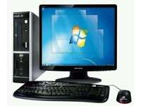 COMPUTER - STONE TOWER COMPLETE WITH 17 INCH TFT WINDOWS 7 FULLY WORKING FREE DELIVERY LOCAL
