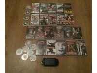 Sony Psp bundle with games and movies