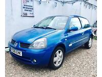 ★🔱PERFECT 1ST CAR🔱★ 2006 RENAULT CLIO 1.2 CAMPUS PETROL ★MOT FEB 2018★ PX TO CLEAR ★KWIKI AUTOS★