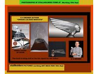 ANTIQUE, VINTAGE & ART DECO EVENTS in BRIGHTON & WORTHING along with LALIQUE AUTOMOTIVE MASCOT EXPO