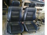 Vauxhall astra bertone full leather seats