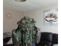 Genuine british army shortback bergen