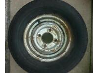 Trailer wheel 145s r10