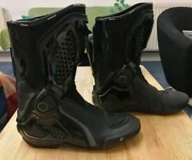 Dainese TRQ Race Boots Size 9UK / 42EU