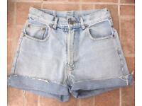 Vintage stone wash shorts size 12