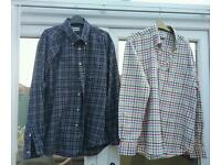 2 barbour shirts