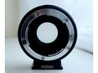 METABONE SPEED BOOSTER from Nikon G to Micro Four Thirds ULTRA 0.71x