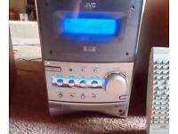 JVC Mini hifi plays DVDs, CDs and MP3 discs - excellent condition