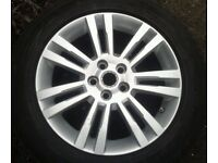 """GENUINE LAND ROVER DISCOVERY 704 19"""" ALLOY & 255/55/19 PIRELLI TYRE EH221007AAW"""