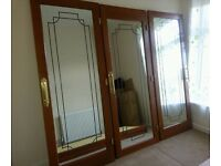 3 mirrored doors from fitted wardrobe