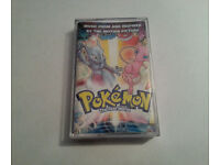 Pokemon The First Movie Music Cassette Tape