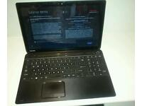 "Laptop Toshiba satellite 15.6"" touchscreen"