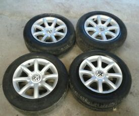 "15"" Volkswagen B5.5 Passat Highline Alloys 5x112"