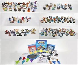 The Ultimate Skylanders Collection, Over 130 Figures, Crystals, Magic Items & 2 of the Latest Games