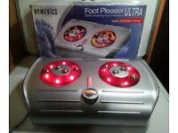 *Homemedics foot massager infared heat Electric Rotating*