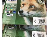 Epsom ink cartridges (5)