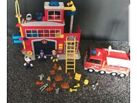 Mickey mouse fire station