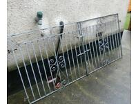 Galvanized heavy duty gates