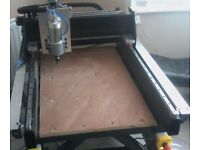 New 3 Axis CNC Router [High Quality] - Cuts Aluminium, Brass, Wood, Foam & Others