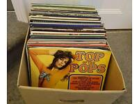 2 x Boxes of Vinyl Records