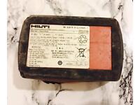 Used Hilti batteries!!!