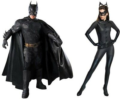 Couple Costume Batman Catwoman Black Dark Knight Rises - Batman Collector Kostüme