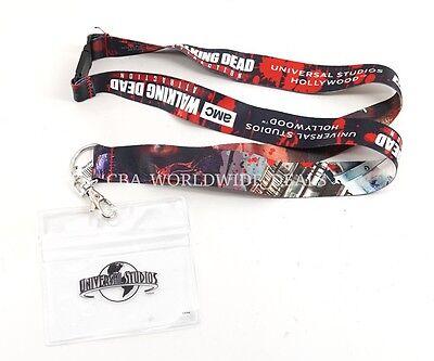 Universal Studios Hollywood Amc The Walking Dead Attraction Lanyard Id Badge