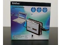 Envivo Cassette Converter to CD/MP3 50815 New Sealed