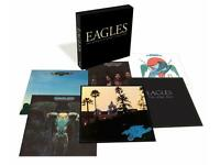 The Eagles The Studio Albums 1972-1979 Vinyl Box Set + Long Road Out Of Eden 2 x LP + History Of DVD