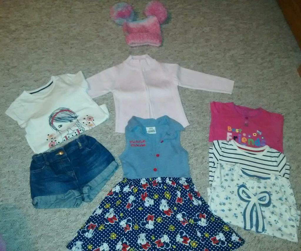 Girls clothes 30 item bundle age 1-3