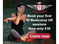 Just £10 for 10 Bootcamp UK sessions! Group Outdoor Fitness
