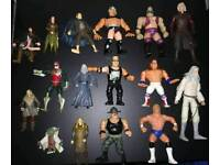 Bundle of various loose action figures