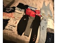 *girl clothes 11/12* branded *ZARA,RIVER ISLAND DKNY & many more
