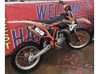 Ktm Sx 85/105 big wheel 2016 tricked up not Yz cr kx rm yzf crf kxf rmz husky