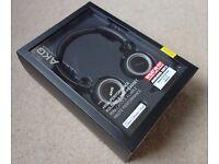 AKG K451 Headphones. Sealed Box. For Apple. Foldable Mini Headset. K 451 K451BLK