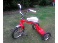 Vintage 60/70s child's Trike/tricycle. Made by Junior Rider.