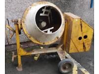 Large cement mixer