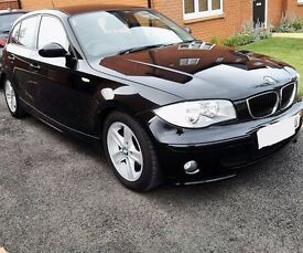 BMW 1 Series - Black and Leather