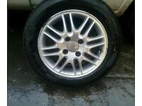 Ford alloys good tyres