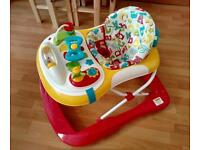 Mothercare ABC baby walker, hardly used VGC, babywalker