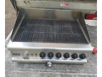 Lincat electric char grill commercial electric grill 90 cm 3 phase heavy duty..
