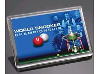Snooker Crucible **Finals** Ticket for Evening Session 7pm Sunday 30th April ***Can Deliver***
