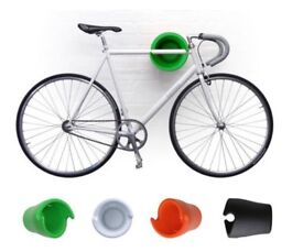 Cycloc solo wall brackets for bicycles (white)