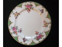 Aynsley Floral Vintage Bone China Dinner Plate 23sm