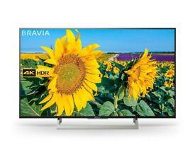 """Like New - Sony Bravia 4k 49"""" TV XBR49X830C"""