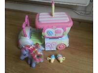 My Little Pony ice cream van and pony