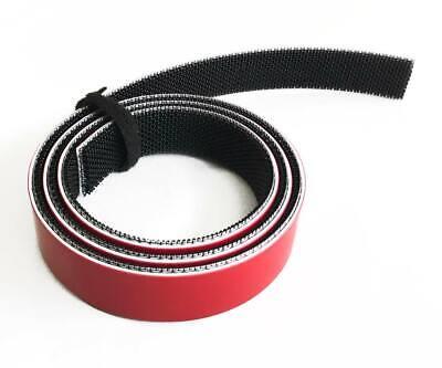1 m Cinta marca VELCRO® ALFA-LOK® Fastener 25 mm negro adhesivo