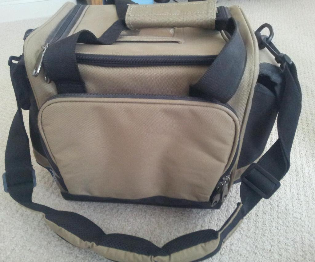 Fishing tackle bag crivit sports brand new in hull east for Fishing tackle bag
